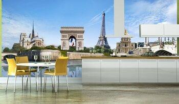 Фотообои на стену Эйфелева башня Парижа