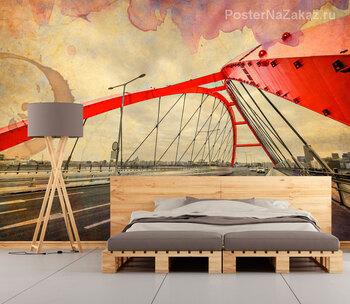 Фотообои Алый мост