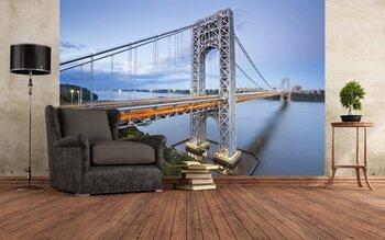 Фотообои George Washington Bridge, New York.