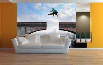 Фотообои на стену Пробежка в Нью-Йорке