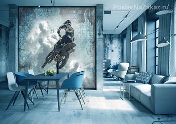 Фотообои Мотоциклист