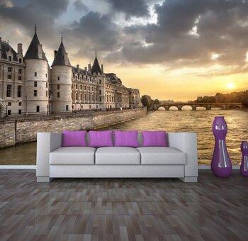 Фотообои на стену Панорама Париж Франция