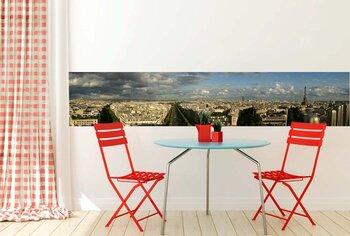 Фотообои на стену Мрачный зимний день. Парижский мост