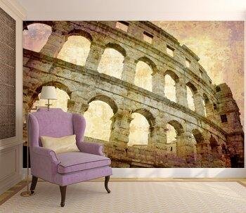 Фотообои на стену Рим. Фонтан