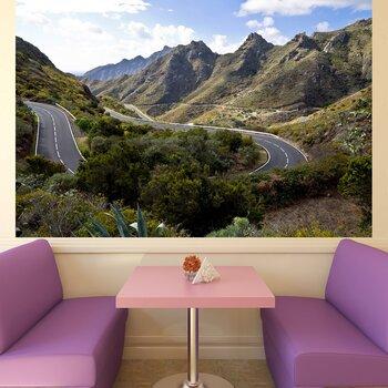 Фотообои на стену Дорога в горах