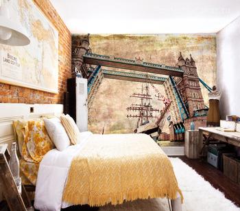 Фотообои Мост и корабль