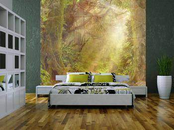 Фотообои на стену Лесные просторы