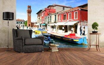 Фотообои Канал Сент-Проли (Венеция)