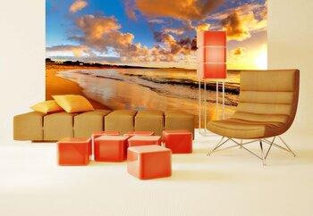 Фотообои Прекрасный закат на пляже