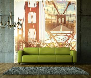 Фотообои Мосты на рассвете