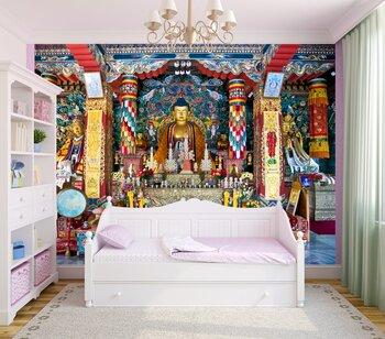 Фотообои на стену Будда