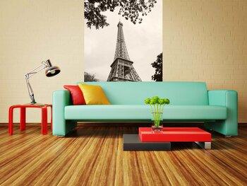 Фотообои на стену Париж. Влюбленные часов не замечают