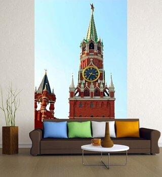 Фотообои Спасская башня кремлевской Москвы