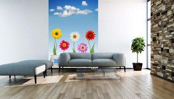 Фотообои на стену Подснежник