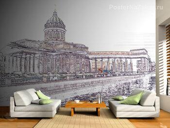 Фотообои на стену Сигнал поезда