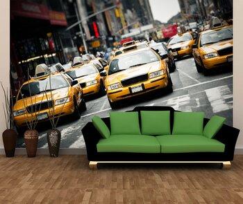 Фотообои на стену New York taxi