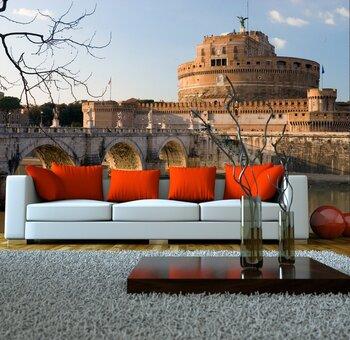 Фотообои на стену Рим в заходящих лучах солнца