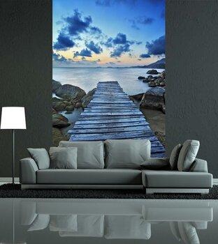 Фотообои на стену Камни в воде