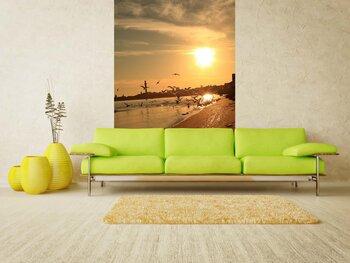 Фотообои на стену Закат на побережье моря