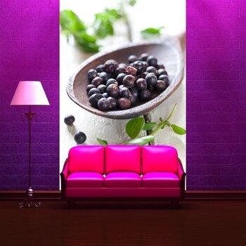 Фотообои на стену Красные ягоды