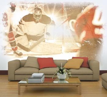 Фотообои Игра в хоккей