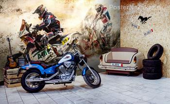 Фотообои Ралли «Дакар»