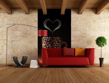 Фотообои на стену Кофе