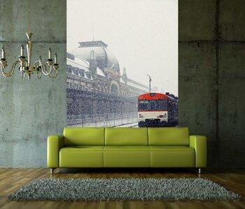 Фотообои на стену Апокалиптическая точка зрения Берлина Горизонт