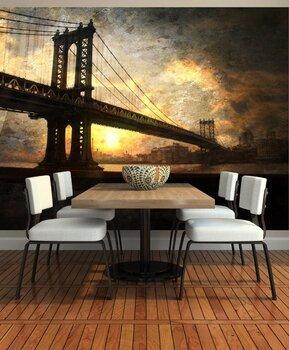 Фотообои Нью-Йорк. Вид моста