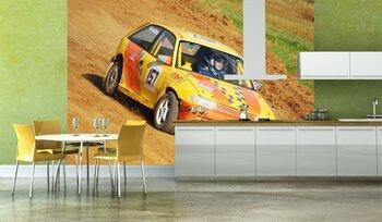 Фотообои на стену ретро автомобиль