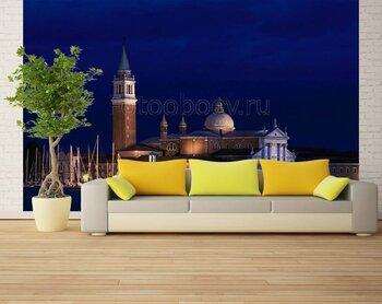 Фотообои на стену Венеция, Италия. Не разойтись
