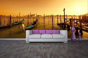 Фотообои на стену Венеция, Италия. В лучах заходящего солнца