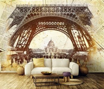 Фотообои Париж 19 века