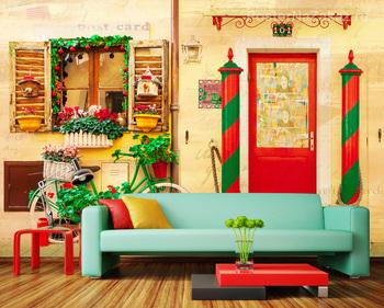 Фотообои Красочный Бурано, Италия