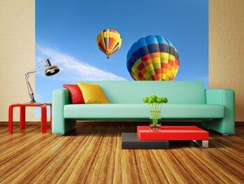 Фотообои Воздушный шар в небе